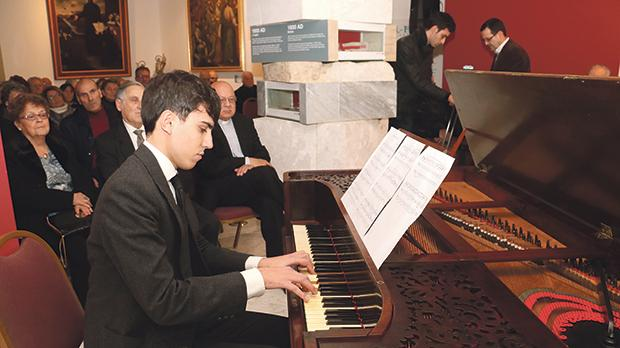 Francis James Camilleri performing a composition by Mro Vella.