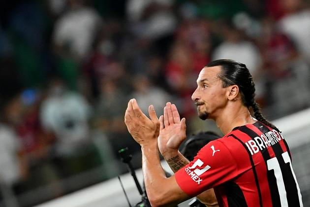 Ibrahimovic out of Milan's Champions League return at Liverpool