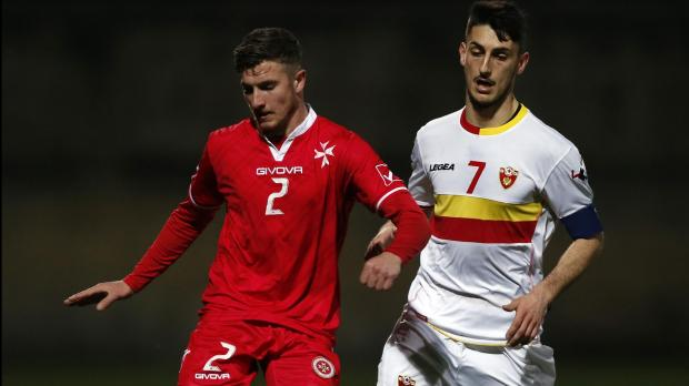 Emanuel Briffa (left) was handed a life-ban for match-fixing the UEFA U-21 qualifier between Malta and Montenegro. PHOTO: Darrin Zammit Lupi