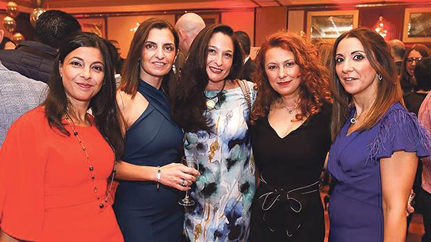 Rita Spiteri, Joyce Grech, Melanie Galea Cini, Rosalind Galea and Claudine Borg Caruana
