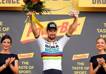 Watch: Third stage win for Sagan as Thomas retains yellow jersey