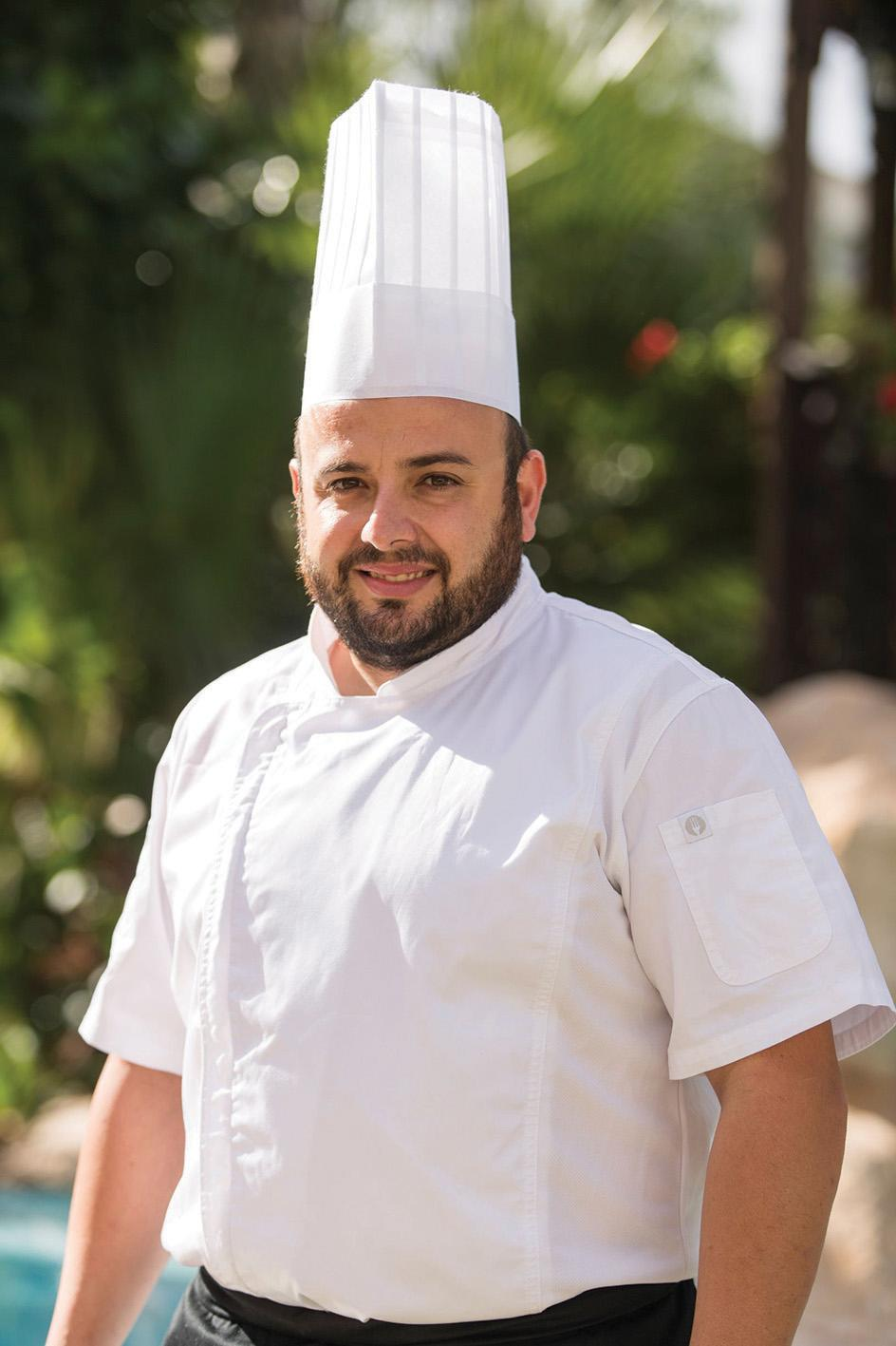 Head chef Glenn Bartolo