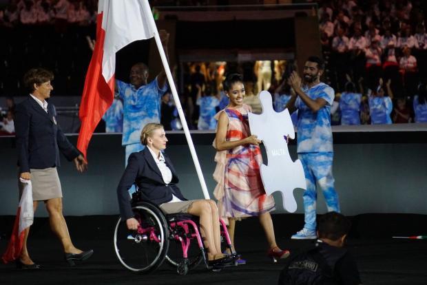 Vlada Kravchenko is Malta's only athlete at the games.