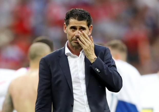 Fernando Hierro failed to lead Spain to World Cup glory.