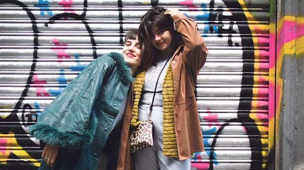 Susannah (left) and Martina Mifsud, who live in Barcelona, have been inseparable friends.