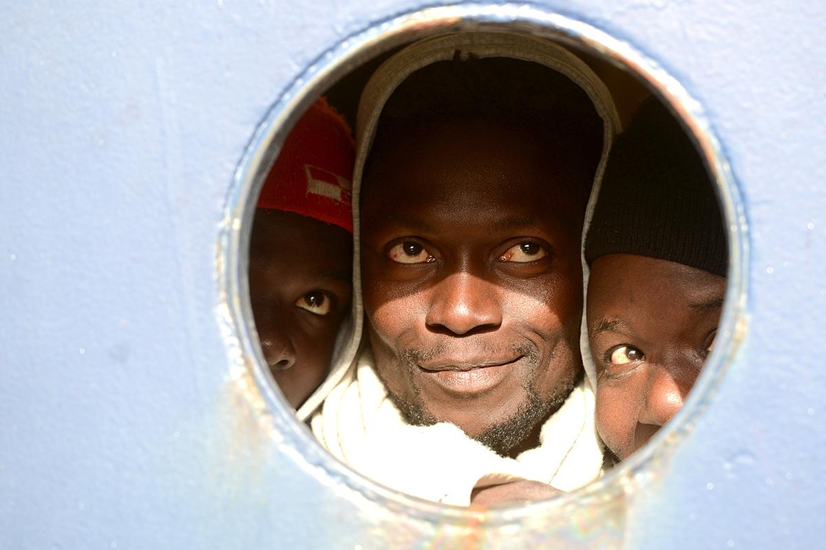 On January 9, Times of Malta visited the men, women and children stranded aboard migrant rescue vessels Sea-Watch 3 and Sea-Eye – 19 days after they boarded the ships. Photo: Jonathan Borg