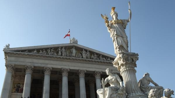 The Austrian Parliament. Photo: Reuters