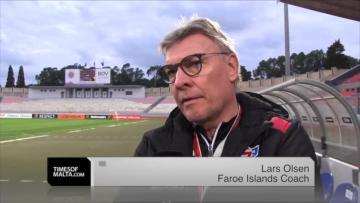Watch: Faroes coach Olsen not underestimating Malta