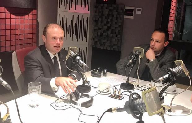 Joseph Muscat and Jason Micallef in Djalogu.