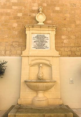 The fountain in Cathedral Square at the Citadel commemorating the naming of Victoria on June 10, 1887.