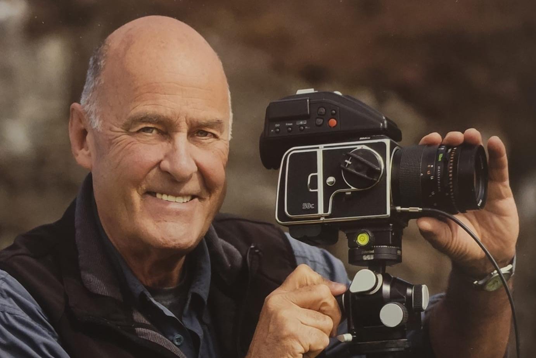 The landscape photographer Charlie Waite