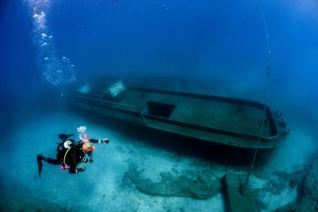 Cyprus divers create digital tours of wrecks and reefs