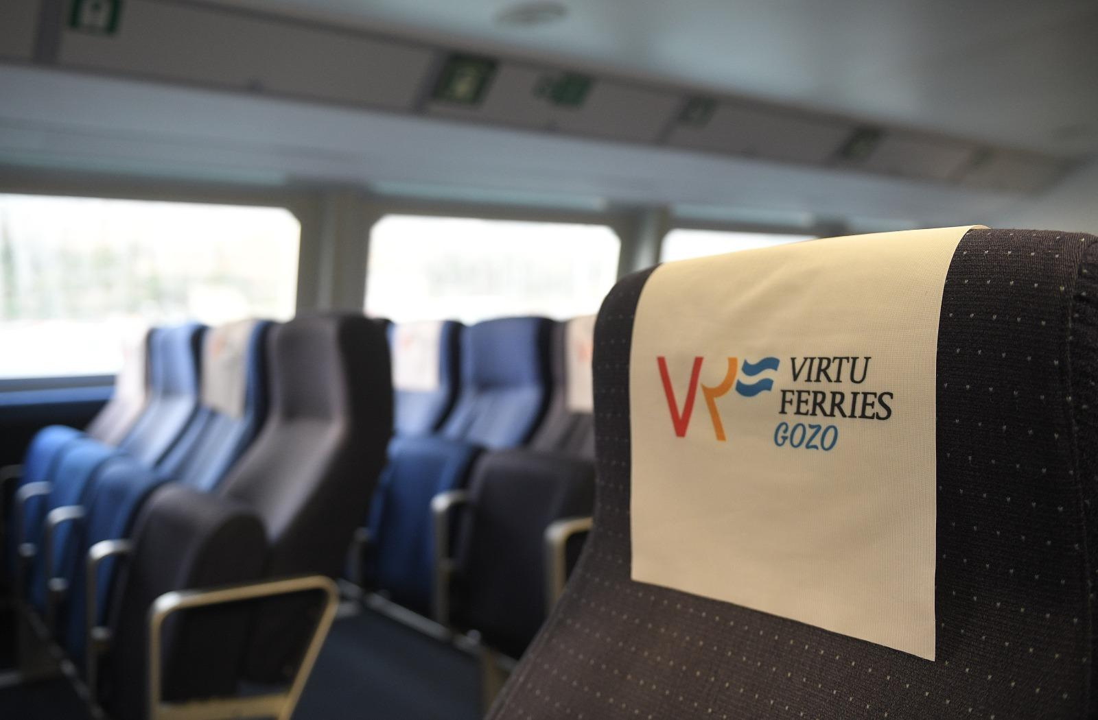 Whilst just as fast as it's competitor, the Virtu Ferries facilities are older, and the trip slightly bumpier Photo: Matthew Mirabelli