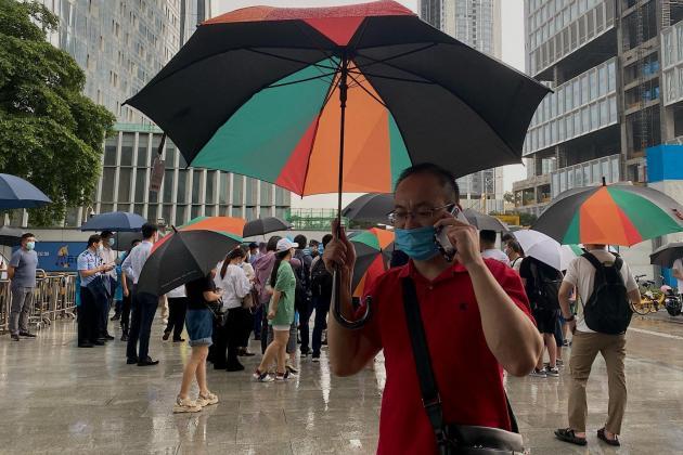 Chinese property giant Evergrande under 'tremendous pressure'