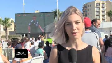 Watch: Fans react to Germany's shock opening defeat