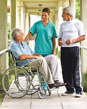 Although nursing homes have a very important role to play in geriatric care, there is a fear that they can be used to warehouse dying people. Photos: Shutterstock.com