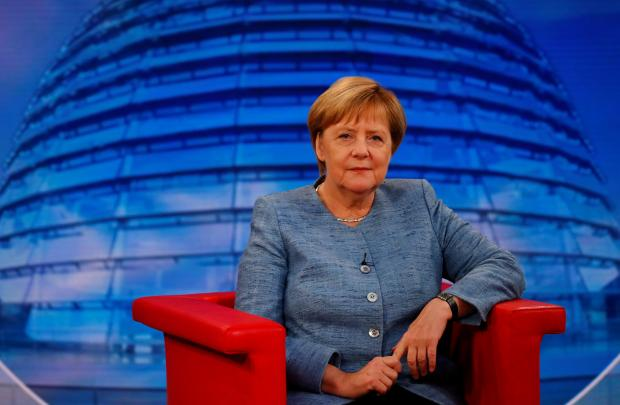 'Climate change isn't just in Africa and the Arctic and Antarctic': Angela Merkel. Photo: Reuters
