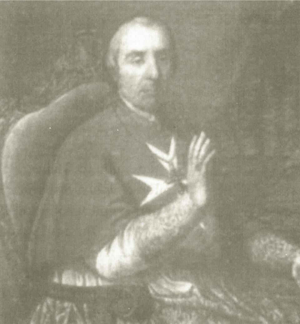 Bishop Mgr Vincenzo Labini, whose August 1798 pastoral letter was published in the Journal de Malte.
