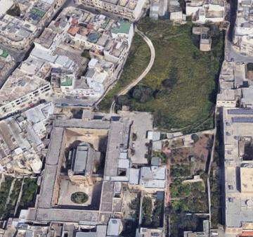 The building and its massive gardens. Photo: Google Maps