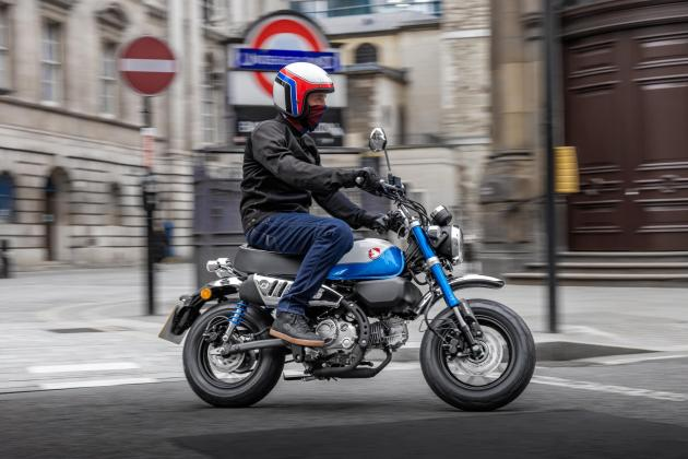 Honda Monkey arrives with new air-cooled engine for 2022