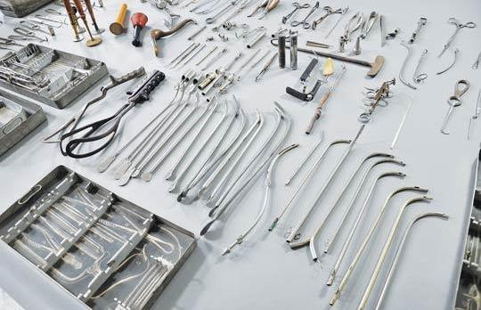 Gynaecological and surgical tools from Auschwitz discovered