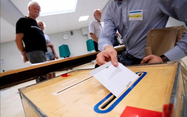 Swedish voters went to the polls on Sunday. Photo: Reuters
