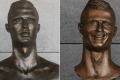 Cult sculpture of Cristiano Ronaldo replaced