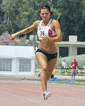 Charlotte Wingfield will represent Malta at the European Indoors.