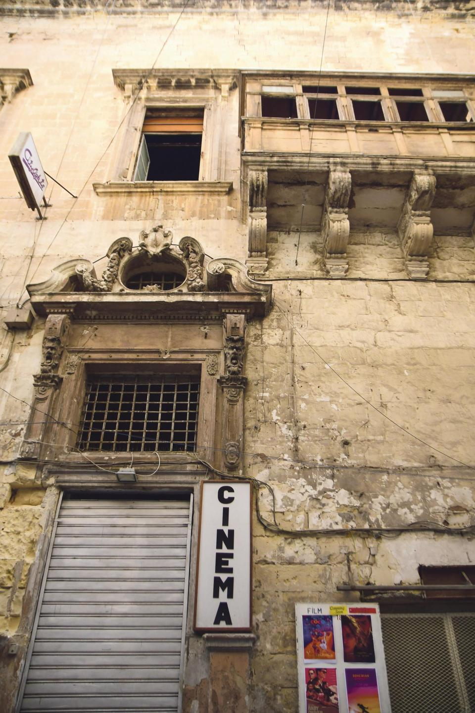 The 300-year-old Valletta building is scheduled as a Grade 1 national monument.