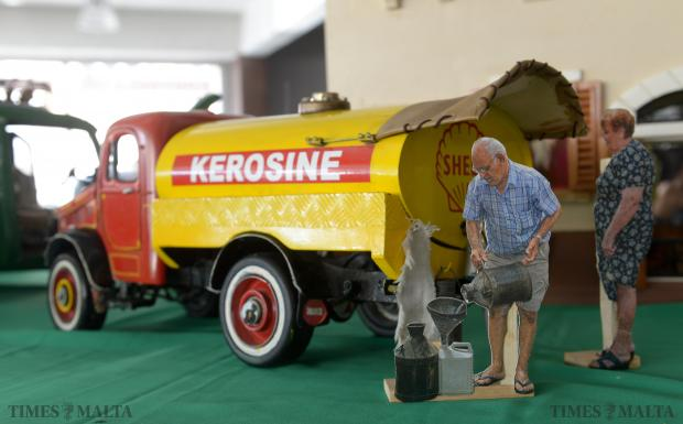 Old Maltese buses, military airplanes, helicopters, all types of cars and a carnival float form part of the annual display of scale models at the Easysell showroom in Qormi on December 7. Photo: Matthew Mirabelli