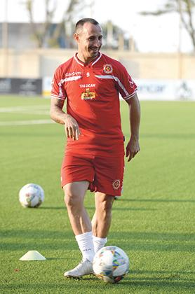 Michael Mifsud, all-time Malta top scorer with 40 goals. Photo: Matthew Mirabelli