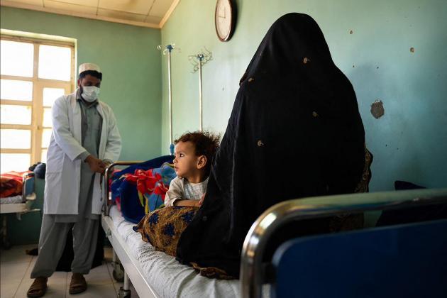 Under years of Taliban rule, women nurses in Afghan village work alongside men