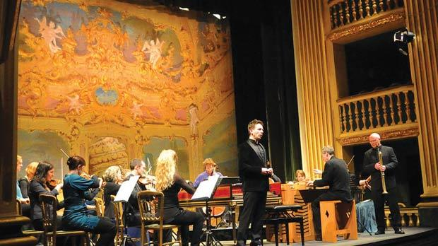The King's Consort and countertenor Iestyn Davies at the Manoel. Photos: PhotoCity