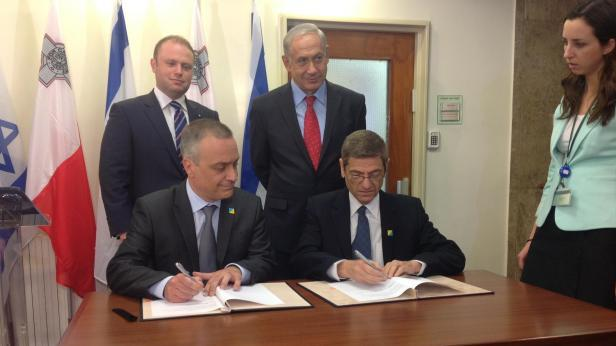Flashback to October 2013 when Malta and Israel  agreed on an action plan for cooperation in healthcare.