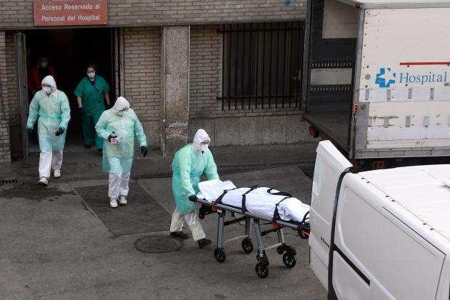 Spain overtakes China with 3,434 virus deaths