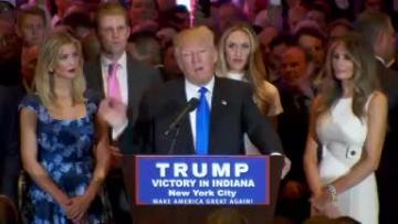 Trump soars to presumptive Republican nominee, Cruz quits