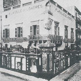 The establishment A La Ville de Londres in Strada Reale (Republic Street), Valletta.