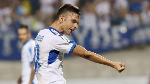 Andre Schembri has scored 11 goals for Apollon Limassol.