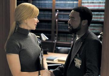 Nicole Kidman and Chiwetel Ejiofor in Secret in Their Eyes.