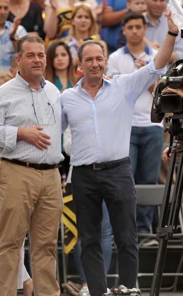 Beppe Fenech Adami and Mario de Marco.