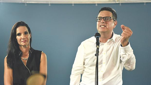 Adrian Delia's main advantage over his competitors for the position of PN leader was that he had no real prior involvement in the party. Photo: Mark Zammit Cordina