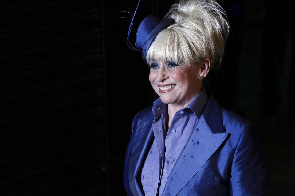 Barbara Windsor starred in both TV and cinematic productions. Photo: Carl Court/AFP