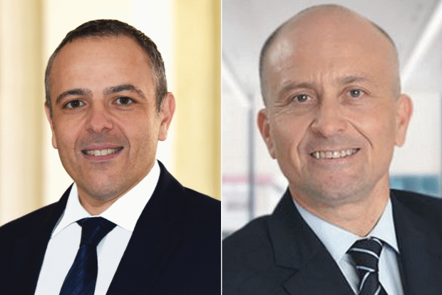 Keith Schembri and Brian Tonna.