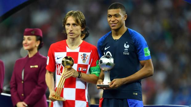 Modric wins Golden Ball as World Cup's best player