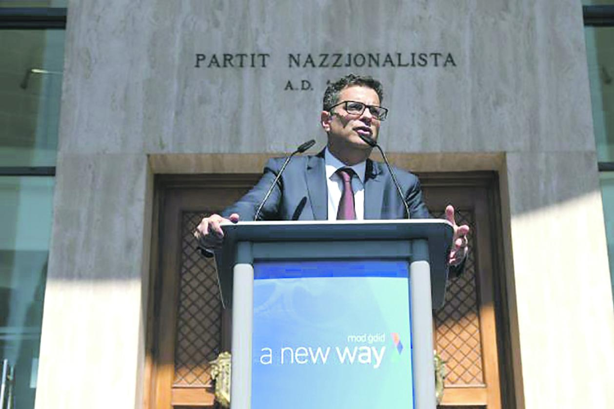 Adrian Delia promised a 'new way' of doing politics but still has to deliver on his promise.