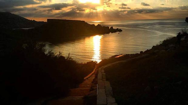 Għajn Tuffieħa. Photo: Mark Aaron Billingham
