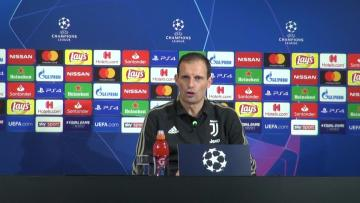 Watch: Juventus can't fall asleep against Valencia, warns Allegri | Video: AFP