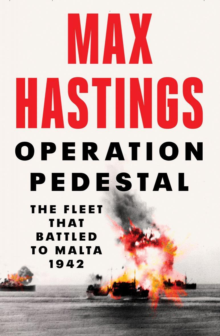 The webinar featured a presentation of the new book by Sir Max Hastings.