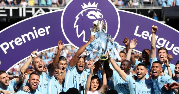 Manchester City face Arsenal on the opening day of the English Premier League.