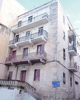 The site, 40, St Mark Street, corner with Marsamuxxetto Road, Valletta, where Francesco Galea set up the very first photographic studio in Malta in 1840.